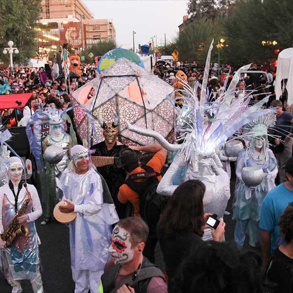 Dia De Los Muertos Visit Tucson