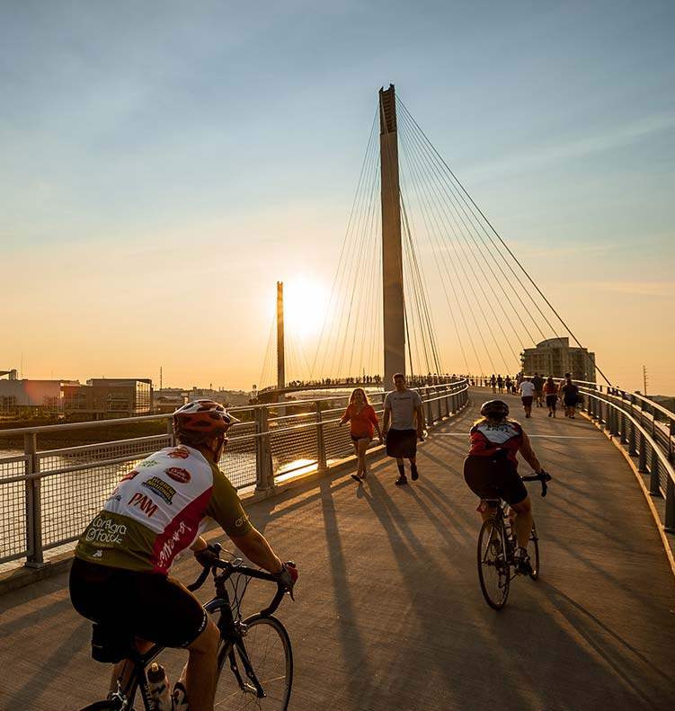 Omaha's Urban Hiking And Biking Trails