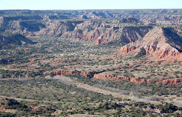Amarillo, Texas, mountain biking, Palo Duro Canyon State Park