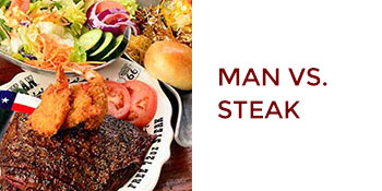 Amarillo, Texas: Man vs Steak