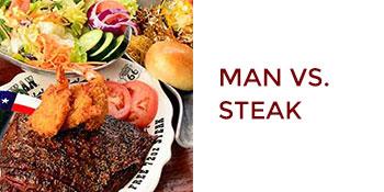 Amarillo, Texas: Man vs Steak