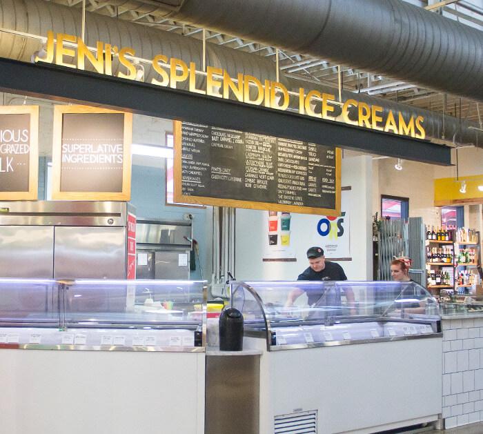 Columbus, Ohio, Easton Town Center, Jeni's Splendid Ice Creams