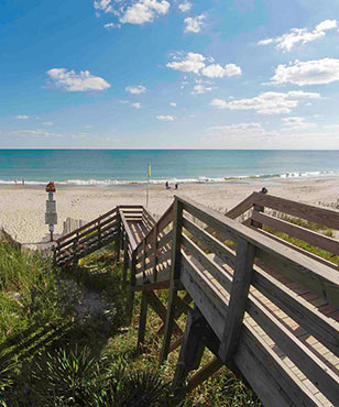 Emerald Isle has a large selection of beach vacation rentals