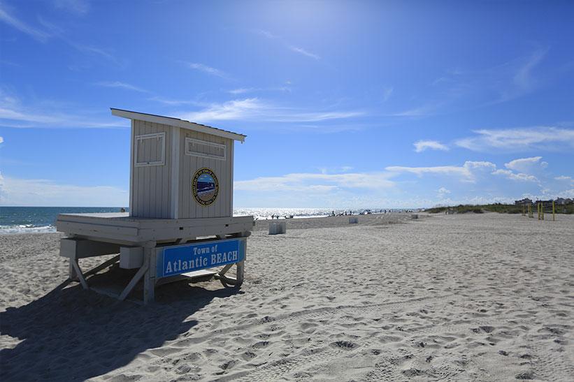 Catch a wave off the break in Atlantic Beach, North Carolina