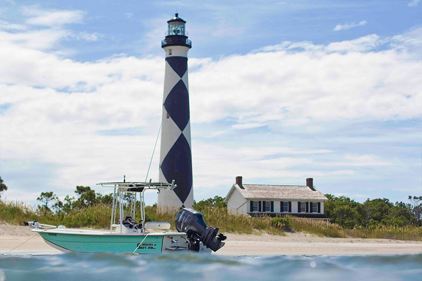 Climb the Cape Lookout lighthouse