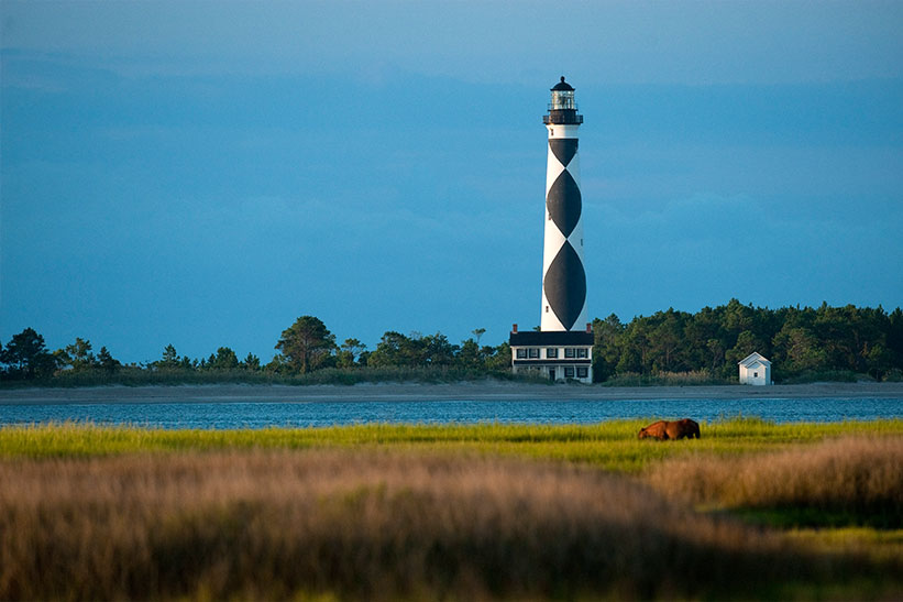 Explore Crystal Coast's untouched isles at Cape Lookout