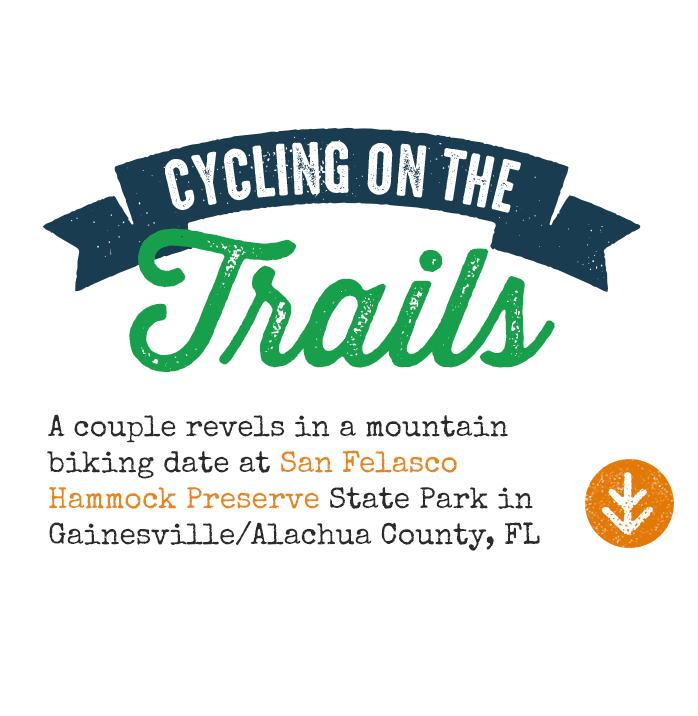 Cycling on the Trails in Gainesville, FL