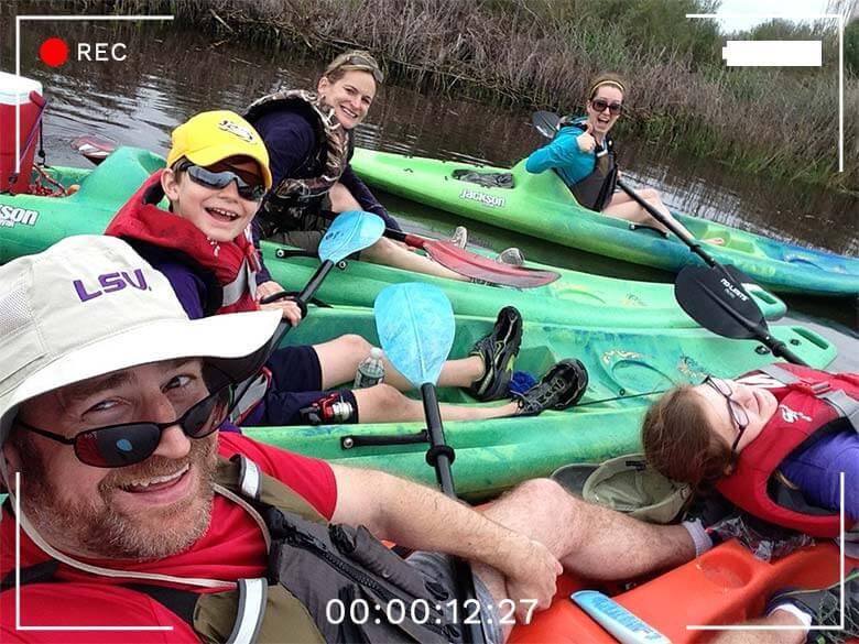 St. Tammany Parish, Louisiana, outdoors, kayaking, Lacombe, Bayou Adventure Outfitters