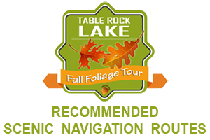 Table Rock Lake Fall Foliage Tour - Recommended Scenic Navigation Routes