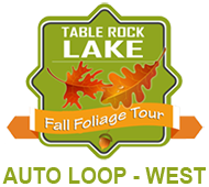 Table Rock Lake Fall Foliage Tour - West Loop