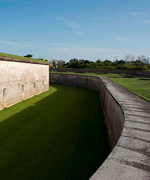 Fort Macon State Park offers tours and beaches