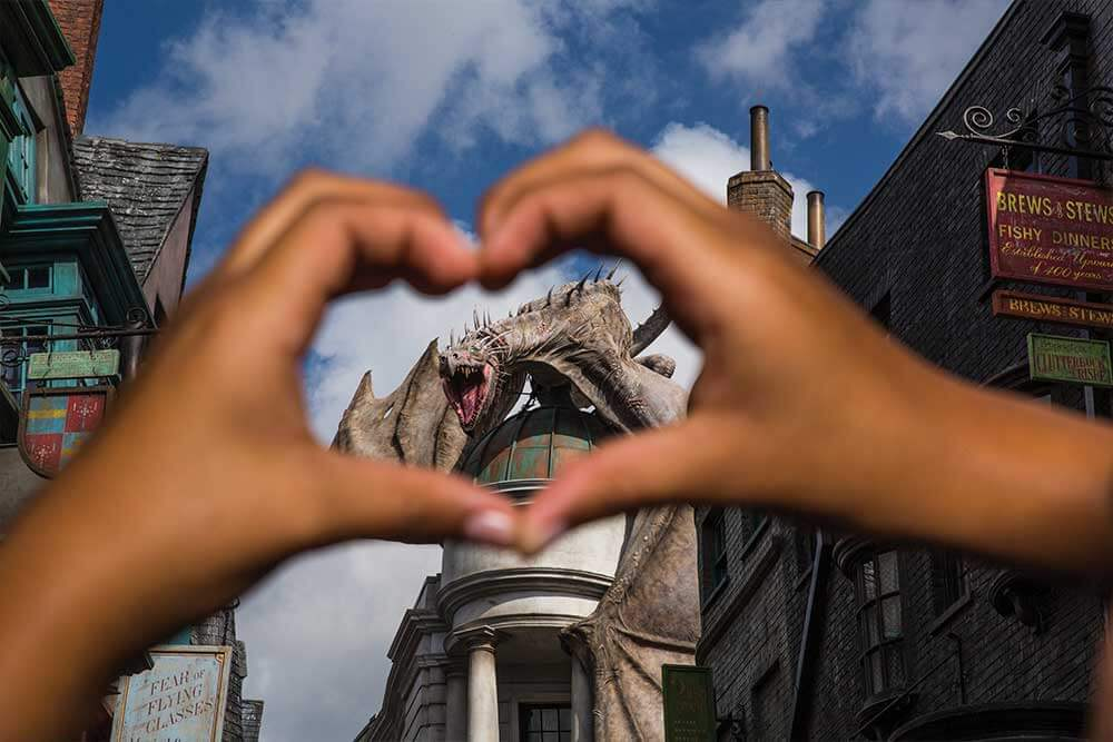 Harry Potter and the Escape from Gringotts at Universal Studios Florida, near Kissimmee