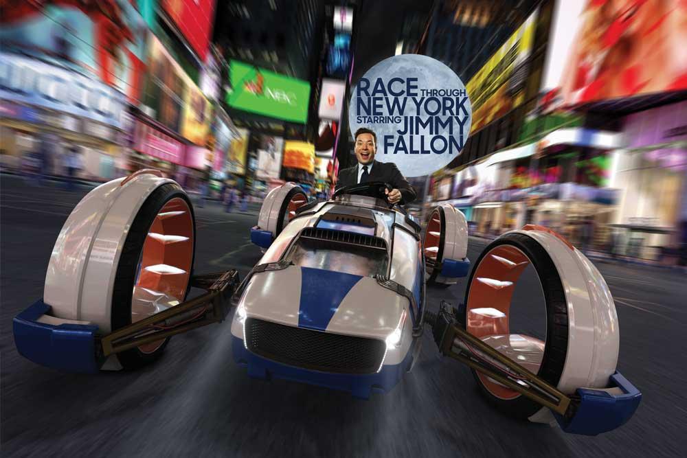 Race Through New York Starring Jimmy Fallon at Universal Studios Florida near Kissimmee