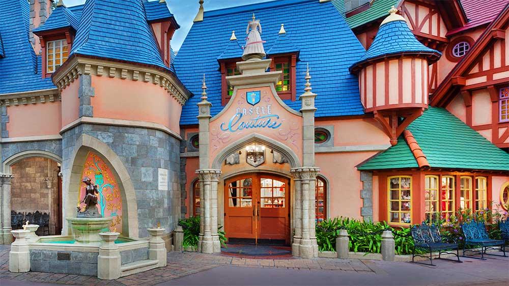 Castle Couture at Magic Kingdom near Kissimmee, Florida