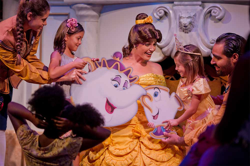 Enchanted Tales with Belle at the Walt Disney World Resort near Kissimmee, Florida