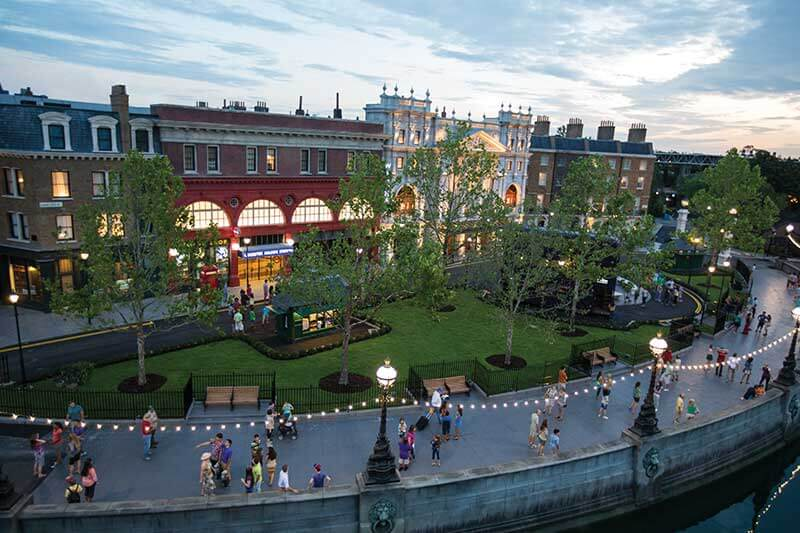 The London Waterfront at Universal Orlando Resort in Kissimmee, Florida