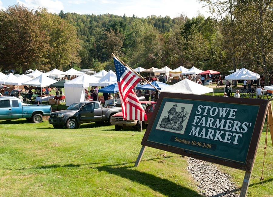 Stowe, Vermont, farmers' market