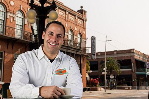 Omar Soliman of College Hunks Hauling Junk, Tampa, Florida