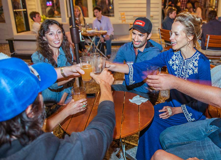 Unwind after a meeting in Traverse City, Michigan, with a local craft brew