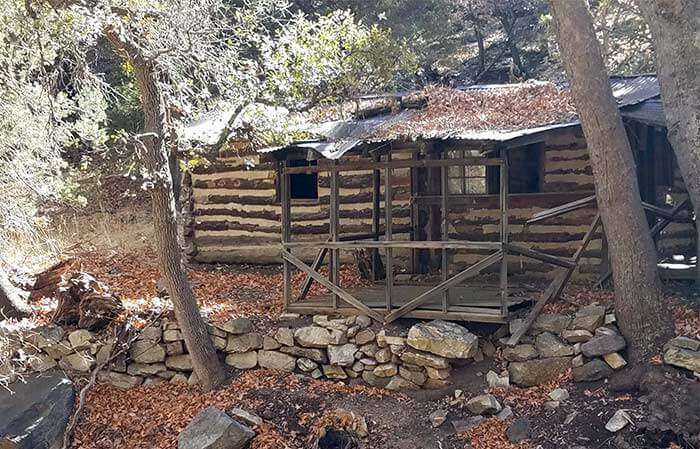 The James Cabin on the trail near Sierra Vista, AZ