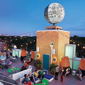 Rooftop Terrace Bar, Moonrise Hotel, courtesy of Moonrise Hotel