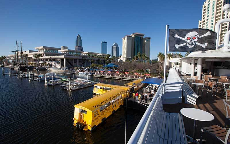 The Pirate Water Taxi in Tampa, Florida