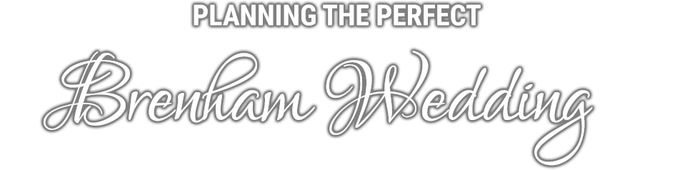 Planning the Perfect Brenham Wedding logo