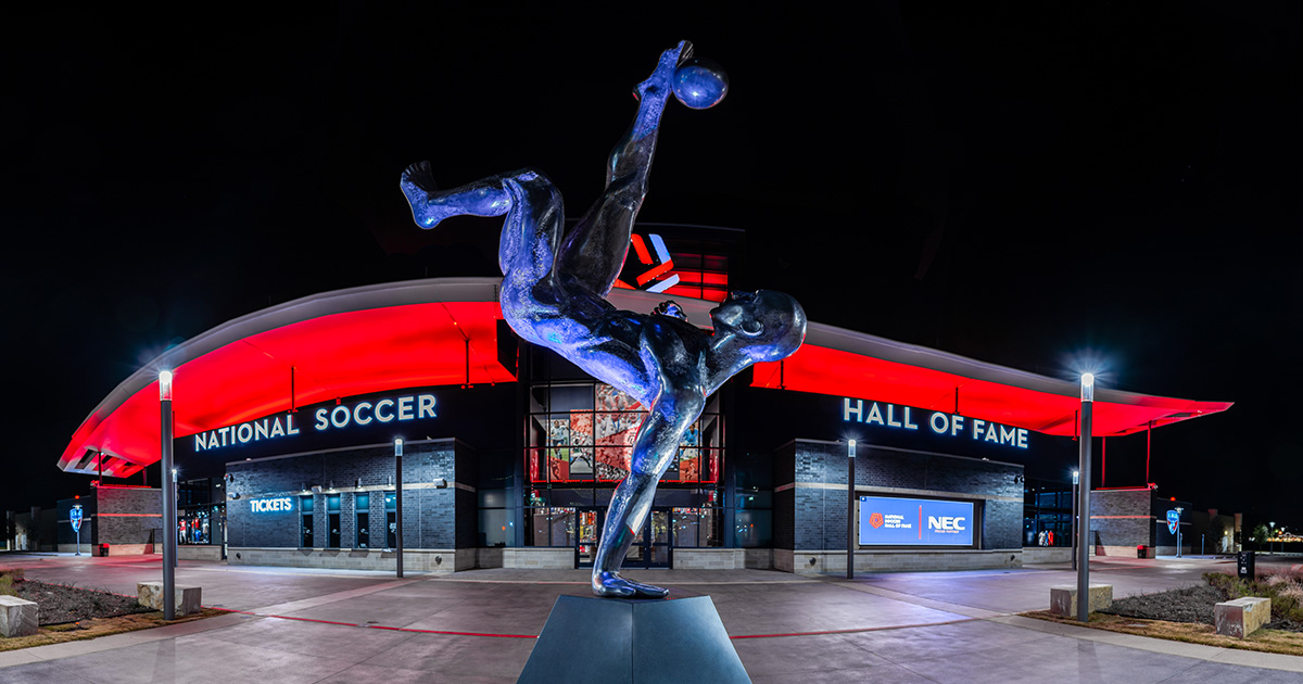 Experience The National Soccer Hall of Fame in Frisco, Texas