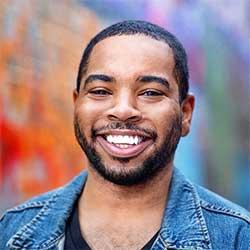 Kansas City-based food influencer Kasim J. Hardaway