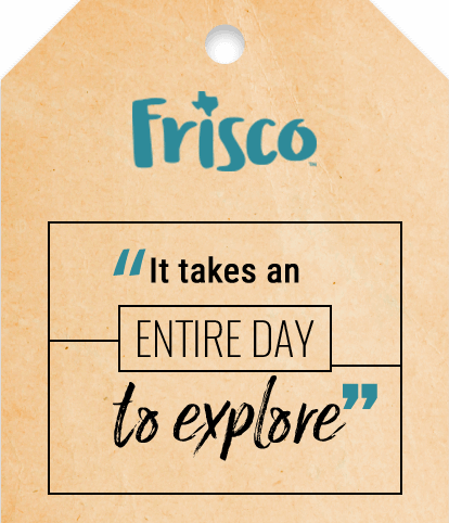 It takes an entire day to explore