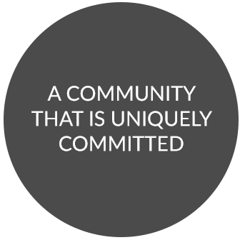 A community that is uniquely committed