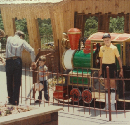 A vintage picture from The Tracks Family Fun Park in Kids Kountry in 1986