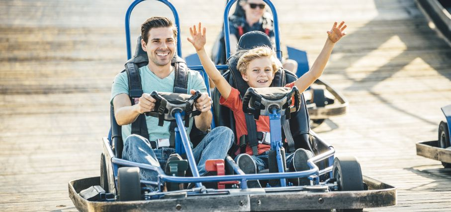 Family-friendly and heart pounding attractions await