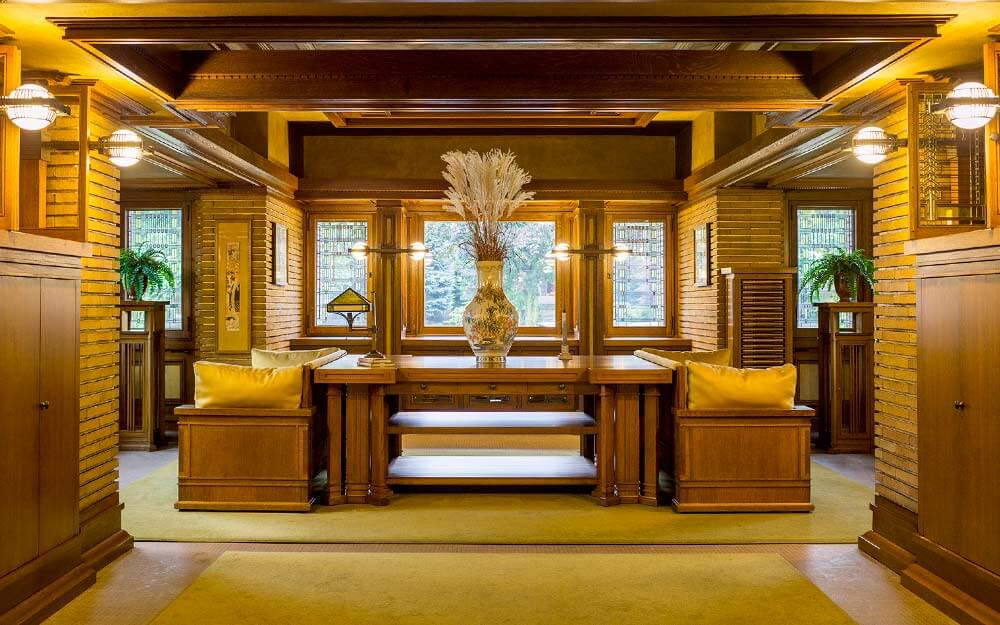 Frank Lloyd Wright's Martin House Complex in Buffalo recently completed a multi-decade restoration that brought the campus of buildings back to its original grandeur.