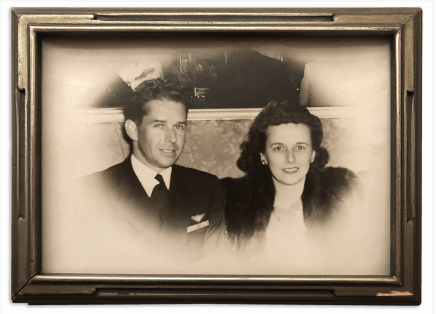 Photograph of Ralph and Kathryn Wilhelm