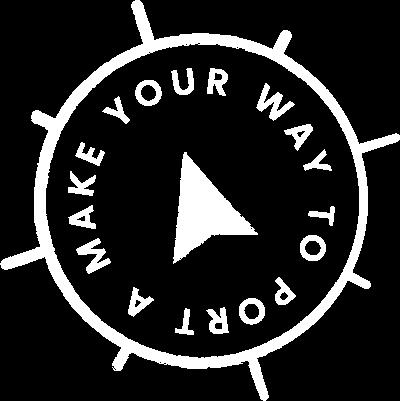 Make yoru way to Port A badge